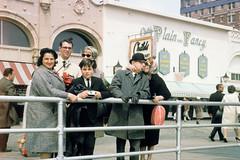 atlantic city - boardwalk circa 1965 (Doctor Casino) Tags: city atlantic boardwalk grandmom florentine evelynjudygodelgirth