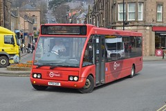432. FP51 GXR: TM Travel, Halfway (chucklebuster) Tags: travel trent solo tm matlock optare fp51gxr