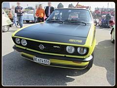 Opel Manta A GT/E (v8dub) Tags: auto old classic car schweiz switzerland automobile suisse automotive voiture german e oldtimer fribourg gt oldcar freiburg manta collector opel youngtimer wagen pkw klassik a worldcars