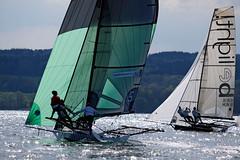 _DSF3976 (Frank Reger) Tags: bayern regatta skiff segeln segelboot 18ftammersee