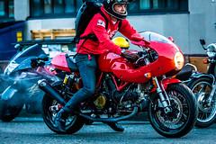 Backfire Moto 1 (jetcitygrom) Tags: seattle canon washington cafe meetup motorbike moto motorcycle biker ballard rider racer 61 backfire