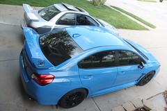 IMG_1069 (86Reverend) Tags: blue 2000 garage 25 subaru hyper 16 impreza wrx sti rs coupe 00 25rs 2016 serieshyperblue