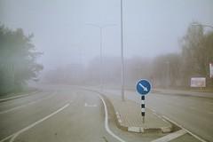 img0029 (Johann Kp) Tags: city morning urban mist streets colour film fog analog 35mm canon kodak ae1 400 expired emptiness ultramax