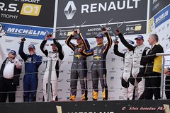 Podium P1 Team Marc P2 RAce GP P3 Strakka Racing