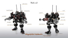 Mark Alpha-3 ProfileS (poltexius) Tags: lego ironman stark steampunk moc hulkbuster