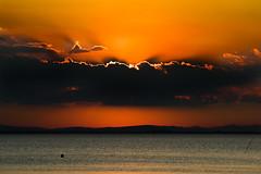 SUNSET (elisanobile) Tags: sunset hot canon landscape lago tramonto colours colori umbria trasimeno lagotrasimeno caldo caldi trasimenolake canon7dmarkii