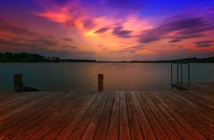 Sunset (Joachim Behnke) Tags: sunset abend licht sonnenuntergang natur farbe langzeitbelichtung nikond5300
