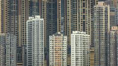 Hong Kong Density~3 (HutchSLR) Tags: china city skyline skyscraper canon hongkong cityscape skyscrapers chinese density hutchslr