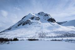Stordalshornet, 1236oh (glennkphotos) Tags: winter sky snow mountains alps norway landscape norge photo nikon outdoor fave winterwonderland landscapesofnorway skulovers