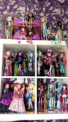 Monster High/Ever After High Collection (Sale) (moonwingscollector) Tags: monster high doll collection after ever mattel collector