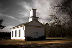 Dickey Presbyterian Church, founded 1849. (Mike McCall) Tags: usa church rural georgia worship christian dickey protestant presbyterian calhouncounty copyright2016mikemccall