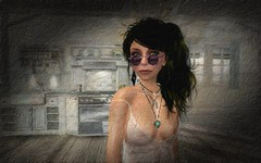 morning in the kitchen (wuwaichun (sometimes on - sometimes off)) Tags: life travel portrait selfportrait art photo artwork foto place avatar pic sl adventure story secondlife mysterious second guide artphotography wuwaichun