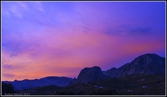 Atardece en la Axarqua (Guervs) Tags: sunset espaa mountains clouds landscape atardecer andaluca spain paisaje nubes andalusia mlaga montaas axarqua autoremovedfrom1to5faves