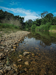 Khao Sok (Andy Kaye) Tags: park lake forest thailand riverside lan national jungle thani khao cottages khaosok surat sok suratthani cheow
