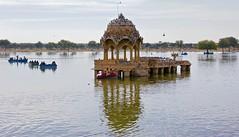 Gadsisar Sagar Lake (somabiswas) Tags: india lake jaisalmer rajasthan lakescapes gadsisarsagarlake