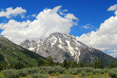 Moran from Craig Thomas (RPahre) Tags: mountains clouds wyoming mountmoran grandtetons tetons jacksonhole grandtetonnationalpark