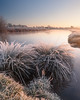 Lechlade I (Stu Meech) Tags: winter sunlight thames sunrise river landscape frozen nikon frost stu hard 45 lee d750 grasses filters grad 1635 meech lechlade 06nd