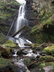 Fairlie Wet Day (wheehamx) Tags: wet digital waterfall glen f30 fairlie