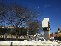 Former Associated Bank- Manitowoc, WI (MichaelSteeber) Tags: wisconsin bank vacant 1960s brutalist midcentury manitowoc brutalistarchitecture associatedbank