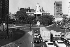 Hartford, Connecticut, 1960s (cruisemagazine) Tags: from above street old city backup light two west look last see us photo looking traffic state you photos tell connecticut side think joe location an here we collection more be unknown second take what after below these sent relaxed caught plenty hartford sixties courtesy statehouse cause might bumpertobumper bustling sokola lets weeks