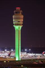 Atlanta Tower (ruimc77) Tags: atlanta usa tower night ga georgia airplane hotel airport nikon atl aircraft aviation jackson 300mm international af nikkor renaissance f4 spotting concourse hartsfield ifed katl aviacao d810 aviavion