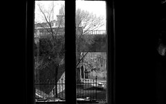 another window (stephie...) Tags: bridge blackandwhite bw window blackwhite serbia belgrade beograd brankovmost