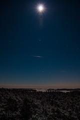 At the moonlight (markoknuutila) Tags: winter moon night moonlight porkkala