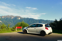 Last sunrays (Iceman_Mark) Tags: summer white 3 black alps cup sport four switzerland ticino noir clio renault 200 cylinder pearl phase limited edition rs blanc lugano naturally givre 2010 nacr 2litre aspirated