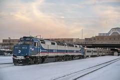 Back to Back EMDs. (Nick Gagliardi) Tags: railroad port train diesel metro north trains commuter jervis emd gp40fh2 mncw f40ph3c