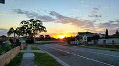 20160111_200204_HDR111 (tanhuylam) Tags: road street sunset sky cloud sun g4 sydney australia lg lgg4