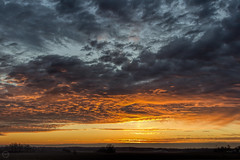 Sunrise 1 Feb 2016 (Explored 2 Feb 2016) (Mike Matney Photography) Tags: sky weather clouds sunrise canon illinois midwest february ofallon 2016 eost5