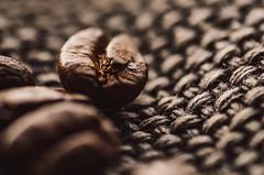 Dark Roast (Watermarq Design) Tags: macro texture coffee hmm coffeebeans macromondays