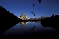 Gleitschirmfliegen-Sommer-Aletsch-flyingcenter (aletscharena) Tags: schweiz wallis aletschgletscher gleitschirm unescowelterbe gleitschirmfliegen aletscharena aletscharenach