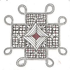 Tangle 225 (kraai65) Tags: doodle tangle zentangle zendoodle zendala