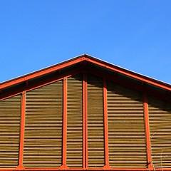 (fotovisiva) Tags: blue sky orange valencia azul architecture arquitectura blu cielo naranja architettura arancione fotovisiva