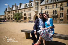 Rupesh and Virgina's Engagement photo shoot in Oxford by Veiled Productions - wedding photography and videography Cambridgeshire