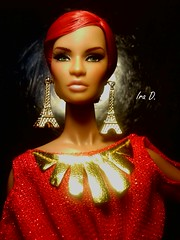 DOMINIQUE (krixxxmonroe) Tags: fashion toys evening dolls blossom ryan d convention monroe makeda ira cinematic diva royalty styling integrity photogrpahy domininque krixx