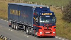 WR61 UMD (panmanstan) Tags: truck wagon mercedes yorkshire transport lorry commercial vehicle freight haulage hgv southcave actros a63