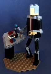 Miniland Doctor 1 (The Solitary Dark) Tags: lego who doctor miniland