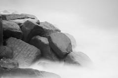 Southwold 3 (Broadologie) Tags: longexposure sea blackandwhite beach suffolk nikon southwold groins d300s