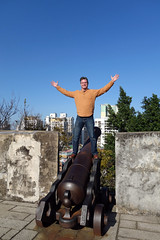 Macau Chinese Lunar New Year 2016, Fortaleza do Monte, Kevin on a cannon (divemasterking2000) Tags: china city winter fling asian photography asia do king fort chinese historic east adventure fortaleza cannon monte adventures macau defensive fortress fareast portuguese far defense hilltop macao 2016 portuguesefort macauchina kaptures fortalezadomontemacau fareastfling kingkaptures kingkapturesphotography