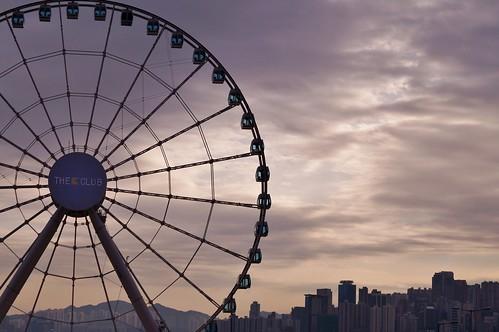 Île de Hong Kong - Central - Grande Roue 1