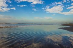 Blue sky 2/2 (wesleybisetto) Tags: travel blue sea brazil sky sun beach nature water brasil clouds landscape seaside peace saopaulo natureza peaceful traveling litoral beaut natual