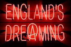 England's Dreaming (richardr) Tags: uk greatbritain light red england london english electric modern europe punk neon european unitedkingdom britain contemporary soho british unionjack sexpistols europeanunion englandsdreaming lightsofsoho
