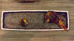 chicken & eggs: organic chicken wing, five spiced foie gras torchon, parsnip fritter, soft boiled egg, golden osetra caviar, morel (frodnesor) Tags: japanese cocktails miamibeach kaiseki bazi michaelpirolo williamrivas bestdishes2016