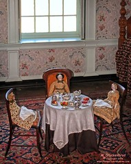 Dolls Tea Party in the Children's Room, Hampton Mansion, Towson MD (PhotosToArtByMike) Tags: md doll estate maryland 18thcentury teaparty towson hamptonnationalhistoricsite hamptonmansion georgianmanorhouse hamptonestate