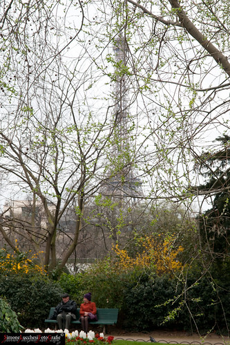 Panchina Boulevard des Invalides