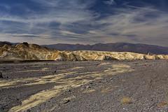 sculpted by water (jecate) Tags: california landscape desert deathvalley badlands geology zabriskiepoint rockformation naturescenes naturalpatterns mudstone valleyofrebirth