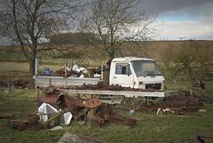 DSC_0006 (srblythe) Tags: uk classic cars ford abandoned graveyard car austin volkswagen scotland volvo rust fiat decay north rusty british scrapyard hyundai leyland vauxhall volvograveyard