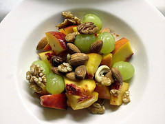 Ode to Health_4924 (Rikx) Tags: summer food fruit breakfast healthy natural nuts walnuts peach explore health honey grapes almonds adelaide southaustralia cashews drizzle pecans healthfood hazelnuts naturalfood